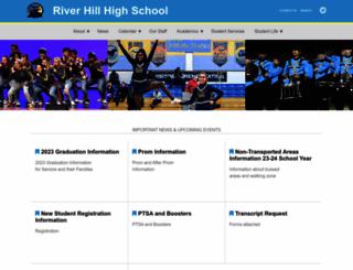 rhhs.hcpss.org screenshot