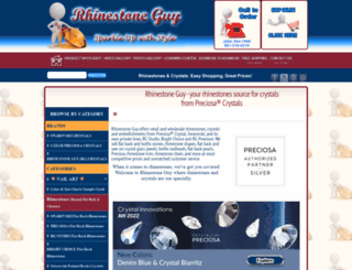rhinestoneguy.com screenshot