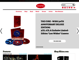 rhino.com screenshot
