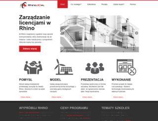 rhino3d.pl screenshot