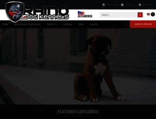 rhinodogkennels.com screenshot
