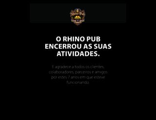 rhinopub.com.br screenshot