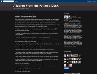 rhinorog.blogspot.com screenshot
