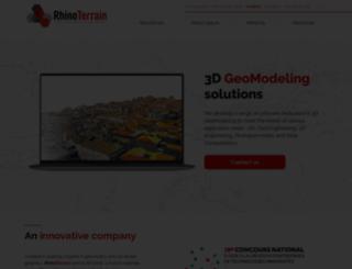 rhinoterrain.com screenshot