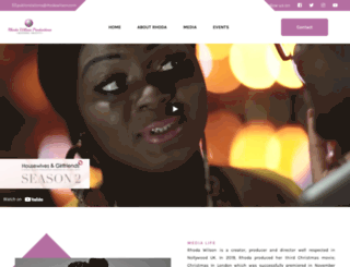 rhodawilson.com screenshot