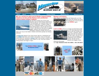 rhodeisland-fishingcharters.com screenshot