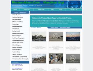 rhodes-album.com screenshot