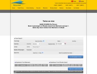 rhodes.marmarisinfo.com screenshot