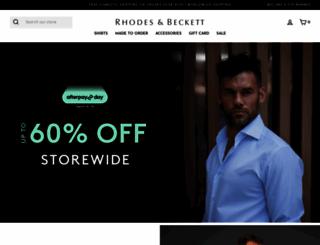 rhodesbeckett.com.au screenshot