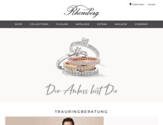 rhomberg.ch screenshot