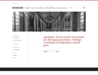 rhonita.wordpress.com screenshot
