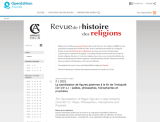 rhr.revues.org screenshot