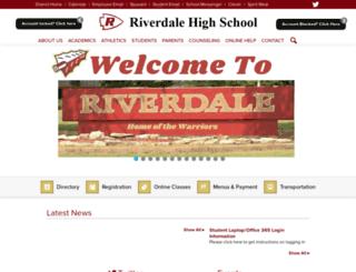 rhs.rcschools.net screenshot
