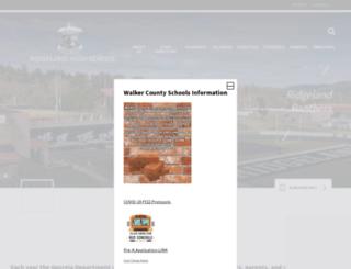 rhs.walkerschools.org screenshot