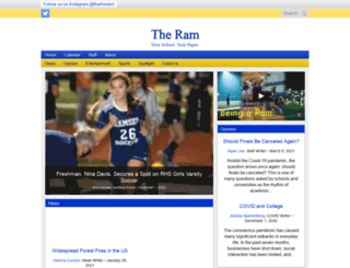 rhsram.com screenshot