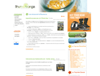 rhum-arrange.fr screenshot