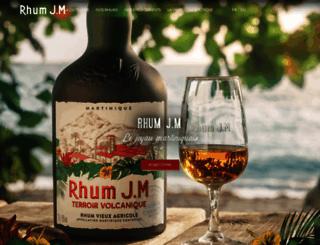 rhum-jm.com screenshot