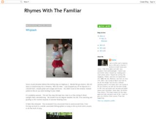rhymesfamiliar.blogspot.com screenshot