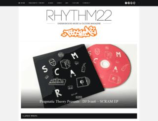 rhythm22.com screenshot