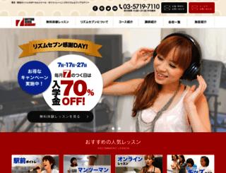 rhythm7.jp screenshot