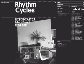 rhythmcycles.ch screenshot
