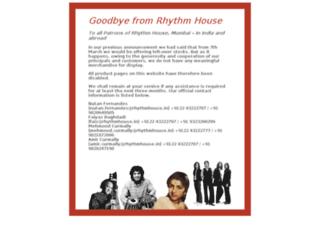 rhythmhouse.in screenshot