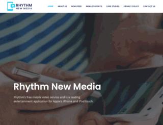 rhythmnewmedia.com screenshot