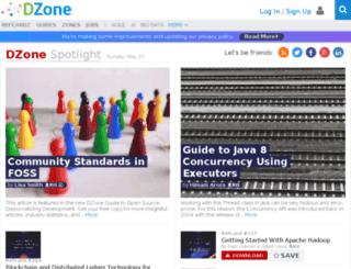 ria.dzone.com screenshot