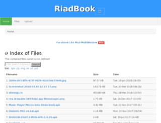 riadbook.wapqu.com screenshot