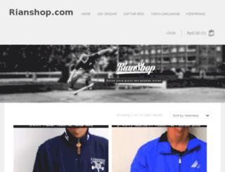 rianshop.com screenshot