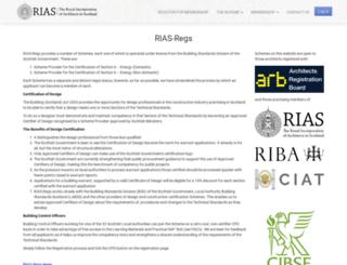 rias-regs.co.uk screenshot
