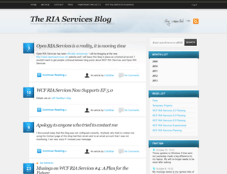 riaservicesblog.net screenshot