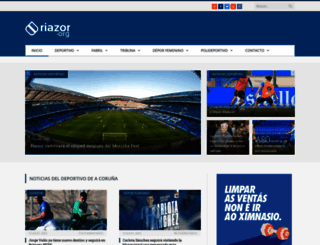 riazor.org screenshot