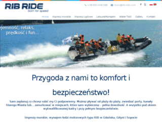 rib-ride.com screenshot