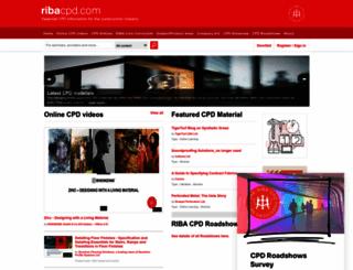 ribacpd.com screenshot