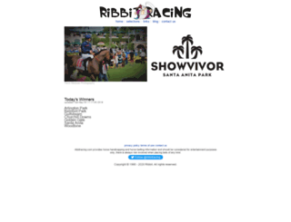 ribbitracing.com screenshot