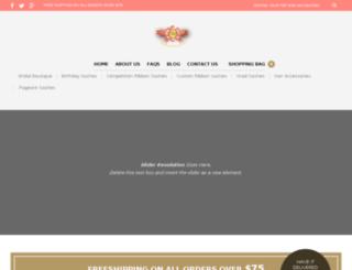 ribbonsashes.com screenshot