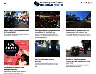 ribeiraopreto.sp.gov.br screenshot
