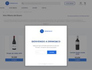 ribera-del-duero.uvinum.es screenshot