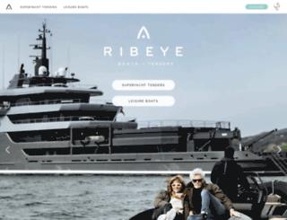 ribeye.co.uk screenshot