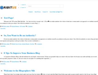ribitus.com screenshot