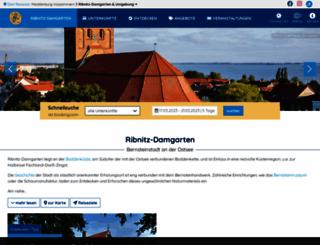 ribnitz-damgarten.m-vp.de screenshot