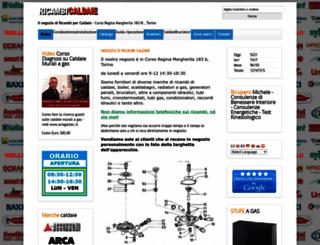 ricambi-caldaie.it screenshot