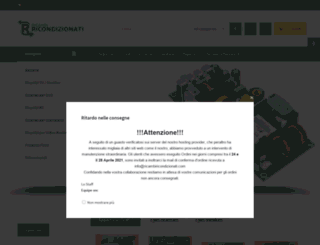 ricambiricondizionati.com screenshot