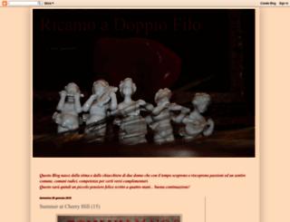 ricamoadoppiofilo.blogspot.com screenshot