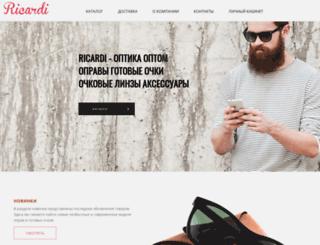 ricardi.ru screenshot