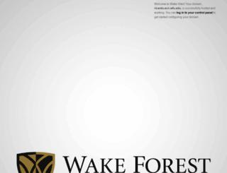 ricardo.ecn.wfu.edu screenshot
