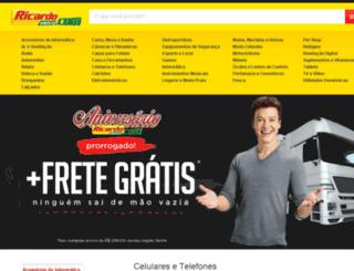 ricardoeletrooferta.com.br screenshot