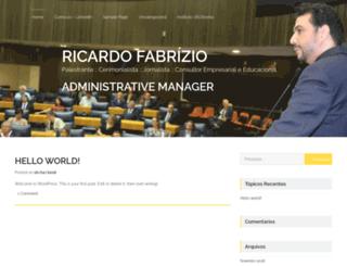 ricardofabrizio.com.br screenshot