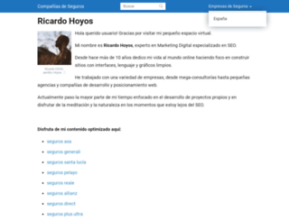 ricardohoyos.es screenshot